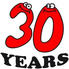 30 Gesicht Augen Lustig Comic Years