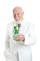 Traditional Kentucky Colonel with Julep