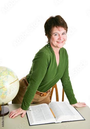 Pretty Teacher or Librarian