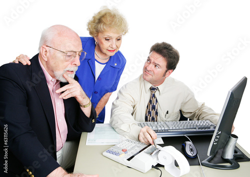 Seniors With Accountant