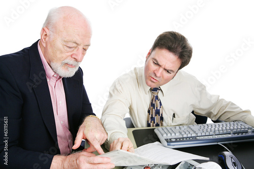 Men Doing Taxes