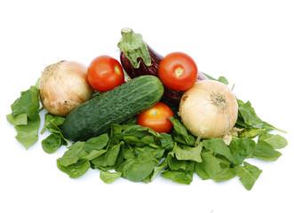 verduras y espinacas