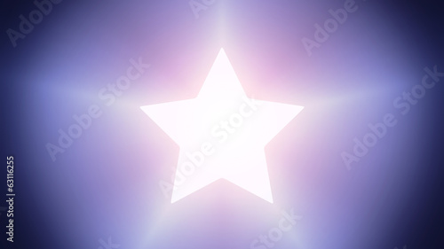 Illuminated star