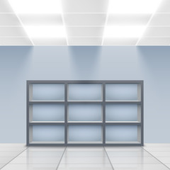 Department store interior detail