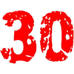 30 Alt Kaputt Jahre Risse