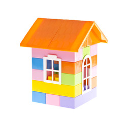 The House from kids blocks