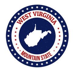 West Virginia stamp