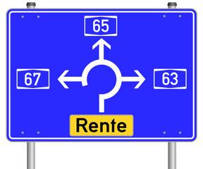 Rente Schild  #140327-svg02