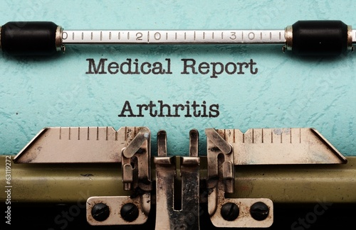 Medical report- Arthritis