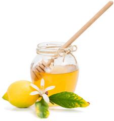 honey azahar and lemon