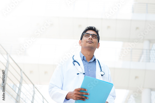 Asian Indian male medical doctor