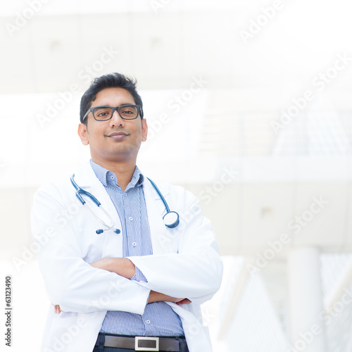 Indian male medical doctor