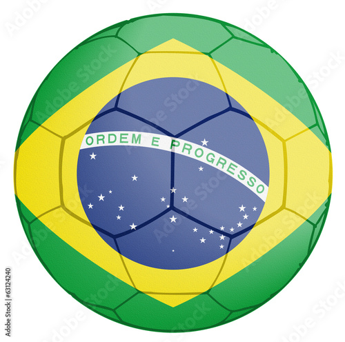 Brasil Soccer Team Ball World Cup