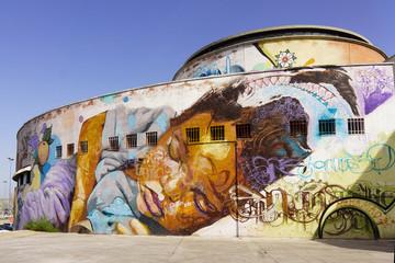Mural art in Sevilla