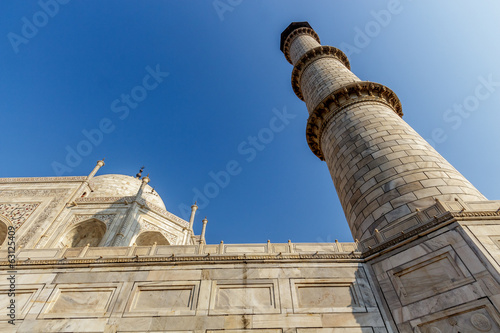 Taj Mahal from below