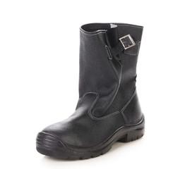 Black man's boot.