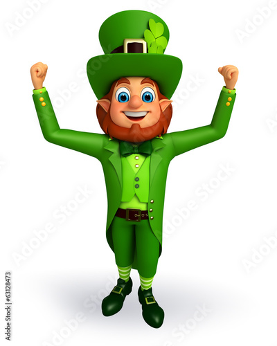 Leprechaun for patrick's day