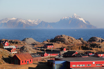 Lofoten's village