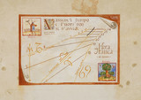 Sundial on Exterior of Friulian Farming Culture Museum poster