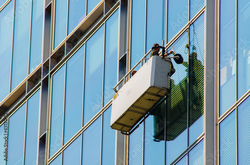 window cleaning - 63130612