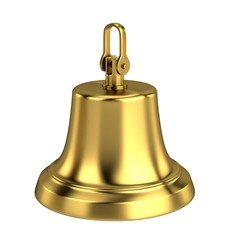 realistic 3d render of bell
