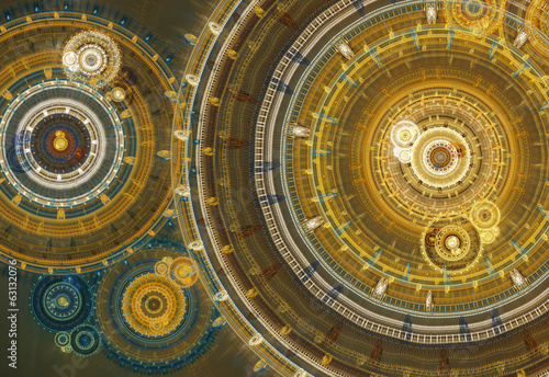 Steam punk abstract