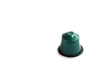Kaffeekapsel gebraucht grün II