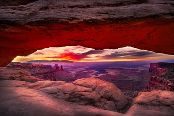 Mesa Arch Just Prior to Sunrise
