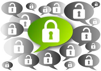 Verschlüsselt, Datensicherheit