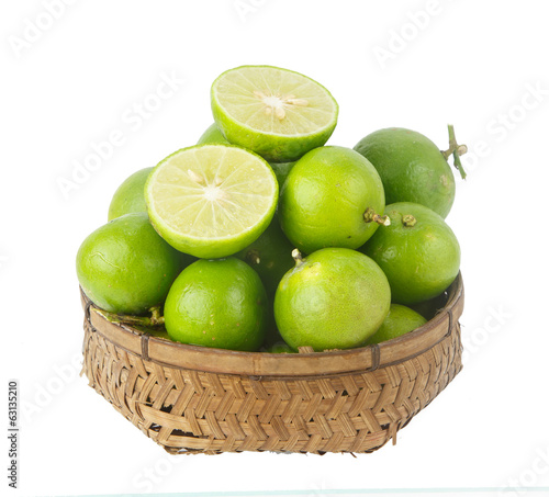 Heap of lime