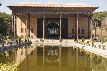 Chehel Sotoon Palast in Isfahan