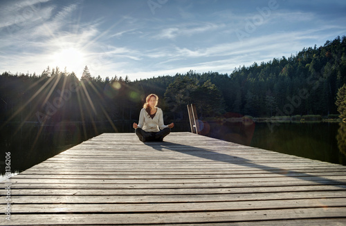 Alpine lake meditations
