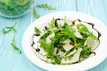 Rocket salad with parmesan