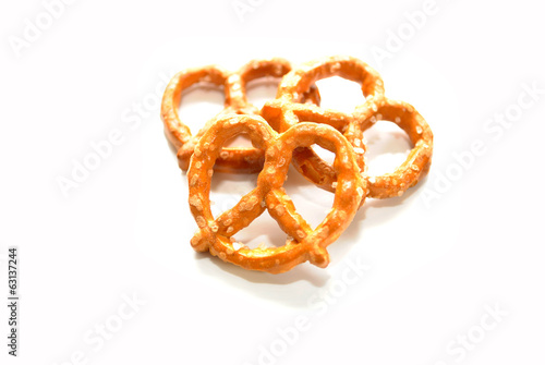 Three Snack Pretzels