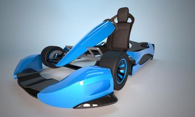 Kart bleu