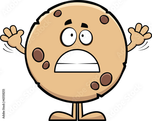 Worried Cartoon Cookie