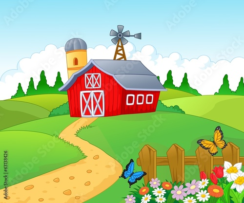 Farm background