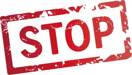Stop stempel