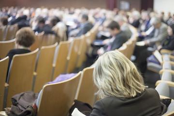 auditorium at prosecution