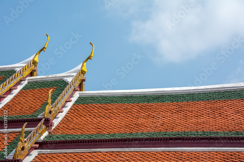 Roof in Temple of The Emerald Buddha 2