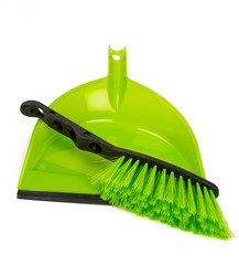 cleaning shovel and brush