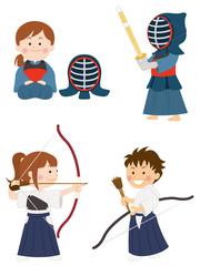 剣道 弓道