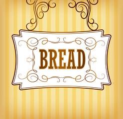 Bakery. loaf, baguette, baked goods, croissant, cupcake, bagel.