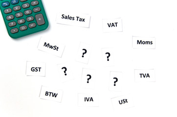 Sales Taxes Confusion