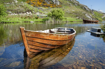 Moored Boat