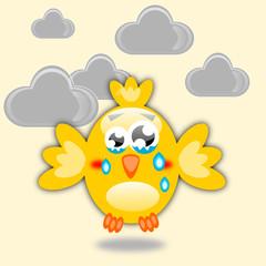 Uccello triste