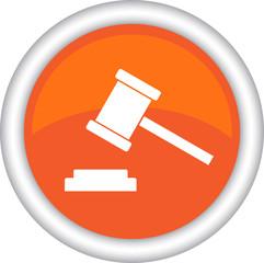Векторная иконка с изображением молотка