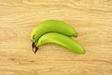 Green cavendish banana poster
