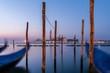 Ile de San Giorgio à Venise au petit matin