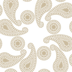 Seamless cashmere pattern illustration